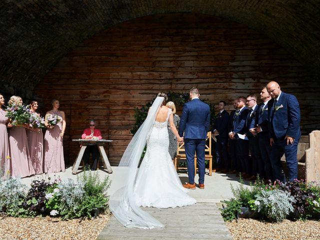 Daniel and Rebecca's Wedding in Wrexham, Cheshire 65