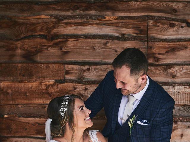 Daniel and Rebecca's Wedding in Wrexham, Cheshire 71
