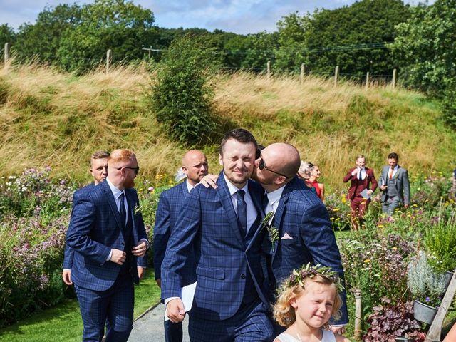 Daniel and Rebecca's Wedding in Wrexham, Cheshire 74