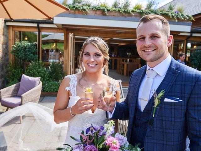 Daniel and Rebecca's Wedding in Wrexham, Cheshire 75
