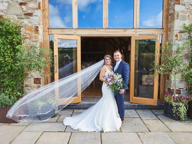 Daniel and Rebecca's Wedding in Wrexham, Cheshire 79