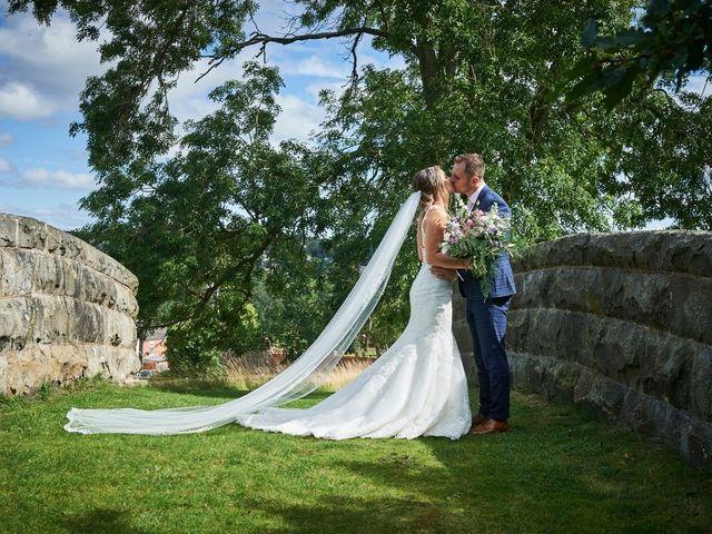 Daniel and Rebecca's Wedding in Wrexham, Cheshire 83