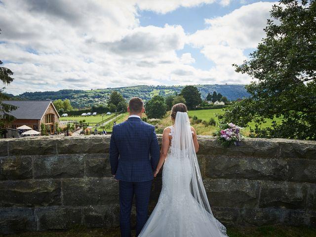 Daniel and Rebecca's Wedding in Wrexham, Cheshire 84