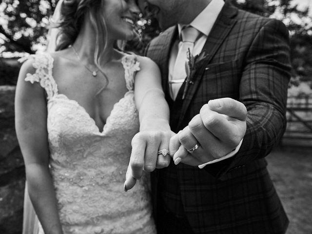 Daniel and Rebecca's Wedding in Wrexham, Cheshire 85