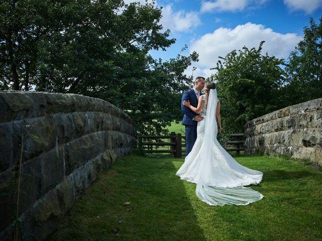 Daniel and Rebecca's Wedding in Wrexham, Cheshire 87