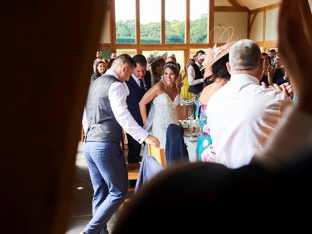 Daniel and Rebecca's Wedding in Wrexham, Cheshire 100