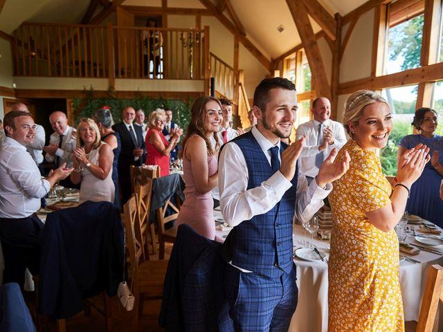 Daniel and Rebecca's Wedding in Wrexham, Cheshire 102