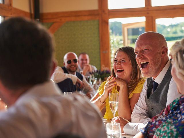 Daniel and Rebecca's Wedding in Wrexham, Cheshire 107