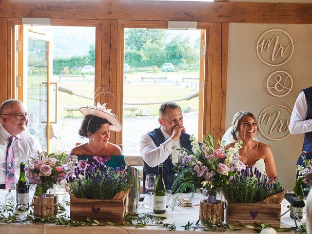 Daniel and Rebecca's Wedding in Wrexham, Cheshire 108