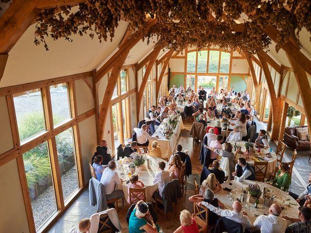 Daniel and Rebecca's Wedding in Wrexham, Cheshire 110