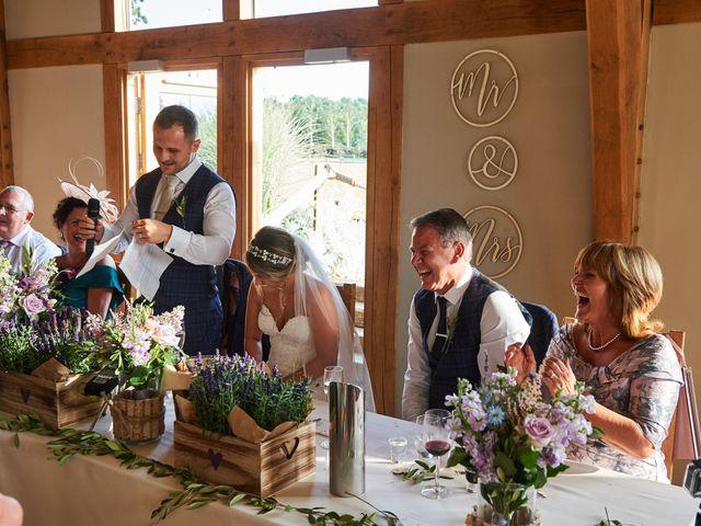 Daniel and Rebecca's Wedding in Wrexham, Cheshire 111