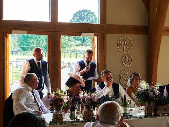Daniel and Rebecca's Wedding in Wrexham, Cheshire 115