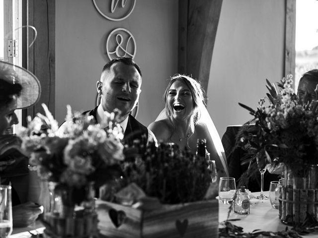 Daniel and Rebecca's Wedding in Wrexham, Cheshire 116