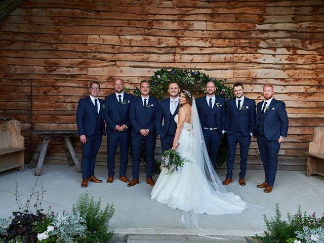 Daniel and Rebecca's Wedding in Wrexham, Cheshire 118