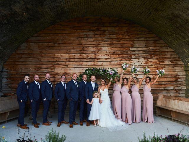 Daniel and Rebecca's Wedding in Wrexham, Cheshire 119