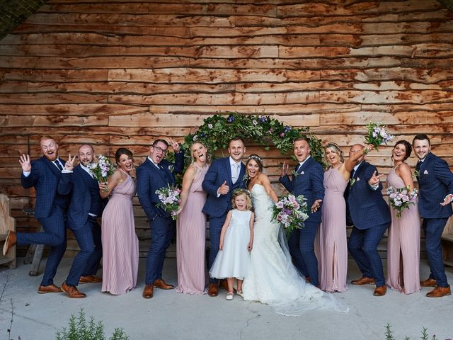 Daniel and Rebecca's Wedding in Wrexham, Cheshire 120