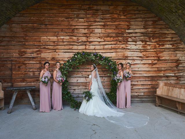 Daniel and Rebecca's Wedding in Wrexham, Cheshire 126