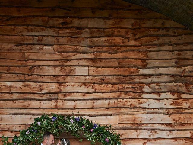 Daniel and Rebecca's Wedding in Wrexham, Cheshire 127