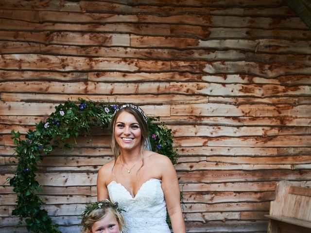 Daniel and Rebecca's Wedding in Wrexham, Cheshire 128