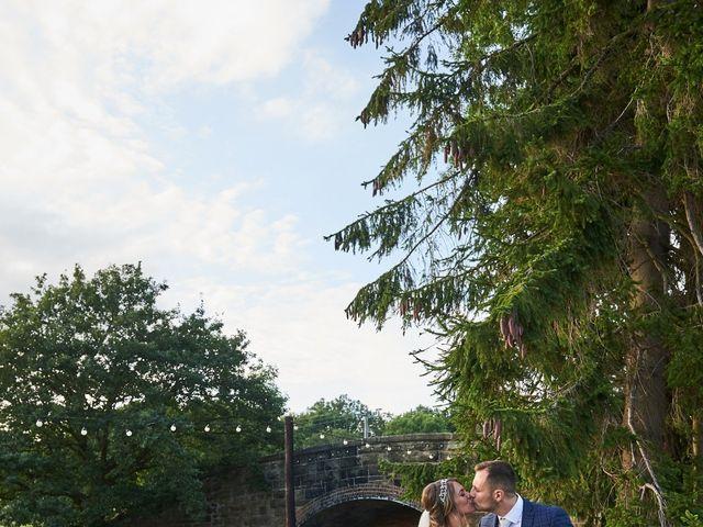 Daniel and Rebecca's Wedding in Wrexham, Cheshire 132