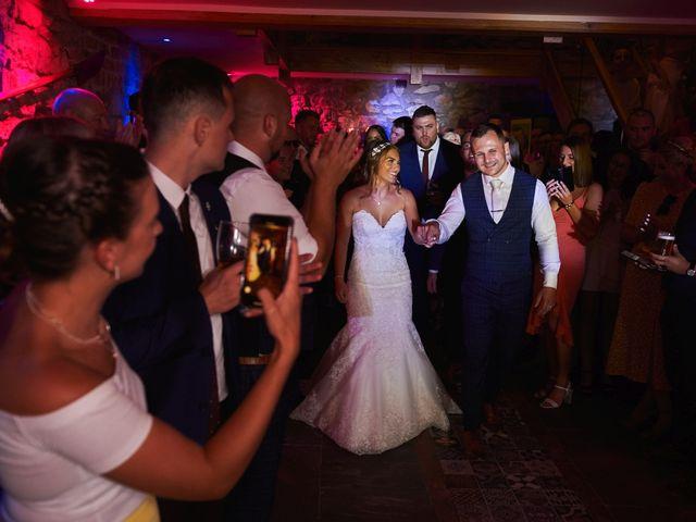 Daniel and Rebecca's Wedding in Wrexham, Cheshire 134