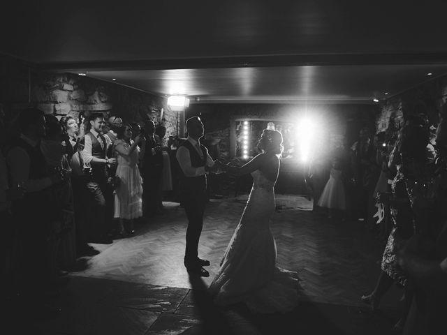 Daniel and Rebecca's Wedding in Wrexham, Cheshire 135