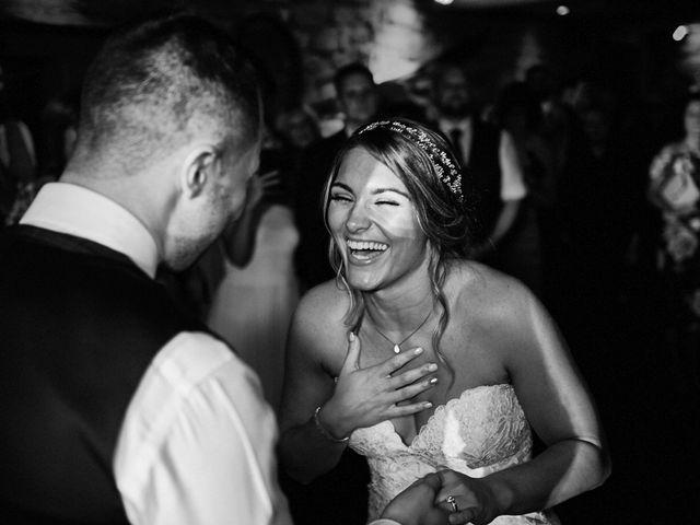 Daniel and Rebecca's Wedding in Wrexham, Cheshire 136