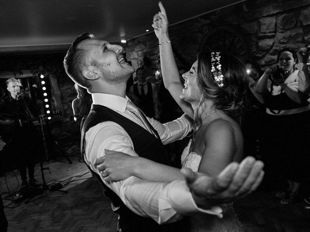 Daniel and Rebecca's Wedding in Wrexham, Cheshire 138