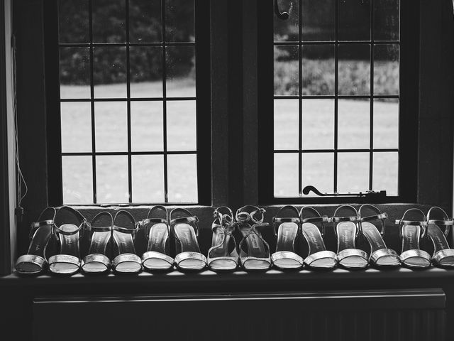 Oliver and Lauren's Wedding in Peover Superior, Cheshire 13