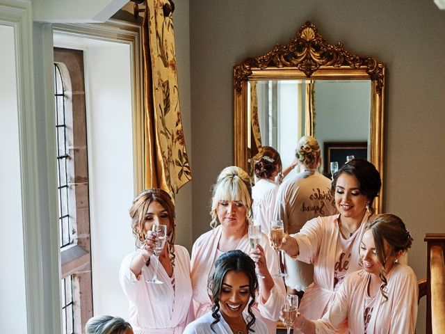 Oliver and Lauren's Wedding in Peover Superior, Cheshire 21