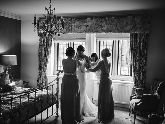Oliver and Lauren's Wedding in Peover Superior, Cheshire 30