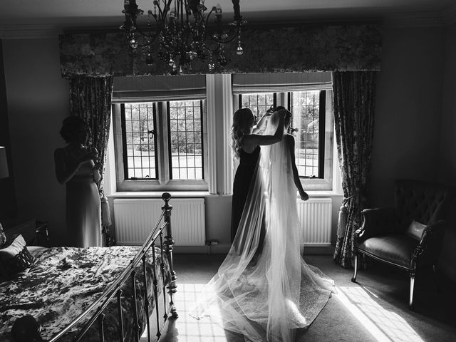 Oliver and Lauren's Wedding in Peover Superior, Cheshire 32