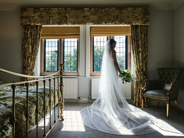 Oliver and Lauren's Wedding in Peover Superior, Cheshire 1