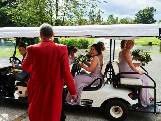 Oliver and Lauren's Wedding in Peover Superior, Cheshire 73