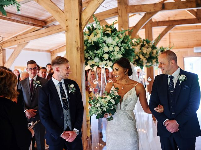 Oliver and Lauren's Wedding in Peover Superior, Cheshire 78