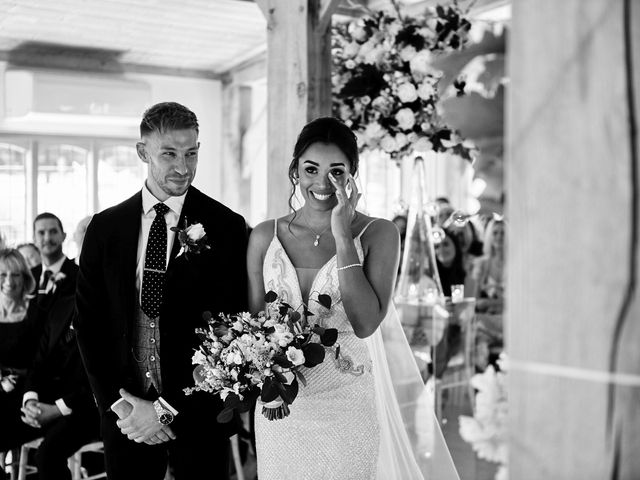 Oliver and Lauren's Wedding in Peover Superior, Cheshire 79