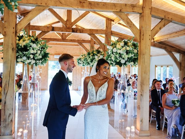 Oliver and Lauren's Wedding in Peover Superior, Cheshire 80