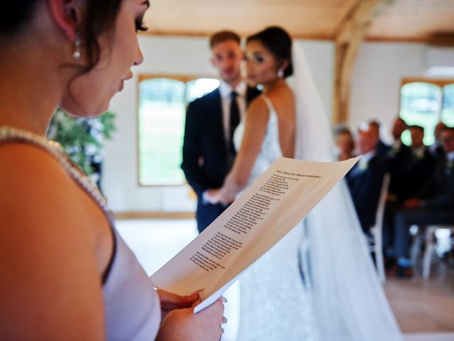 Oliver and Lauren's Wedding in Peover Superior, Cheshire 81