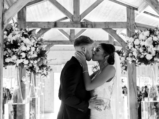 Oliver and Lauren's Wedding in Peover Superior, Cheshire 82