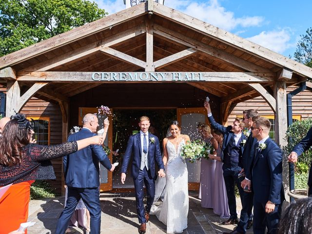 Oliver and Lauren's Wedding in Peover Superior, Cheshire 85