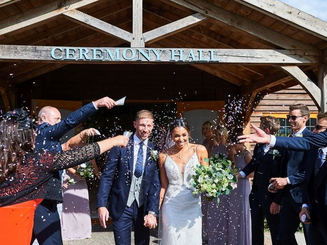 Oliver and Lauren's Wedding in Peover Superior, Cheshire 86