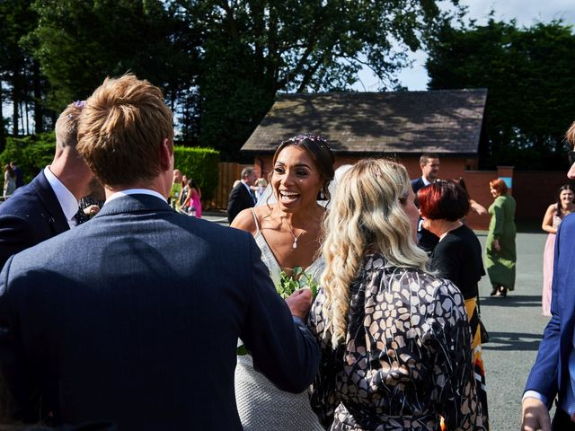 Oliver and Lauren's Wedding in Peover Superior, Cheshire 90