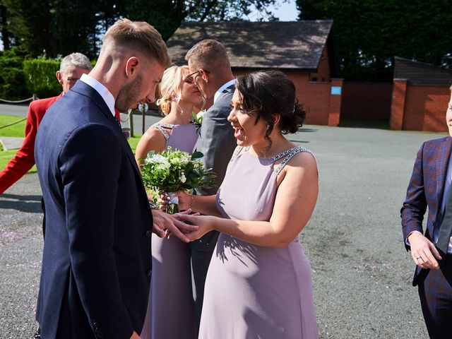 Oliver and Lauren's Wedding in Peover Superior, Cheshire 91