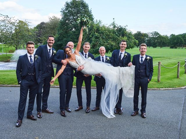 Oliver and Lauren's Wedding in Peover Superior, Cheshire 94