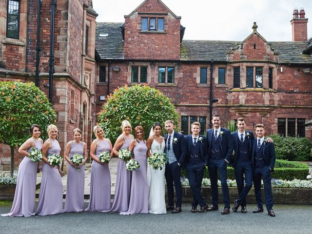 Oliver and Lauren's Wedding in Peover Superior, Cheshire 102