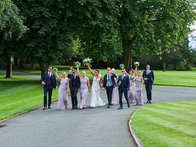 Oliver and Lauren's Wedding in Peover Superior, Cheshire 104