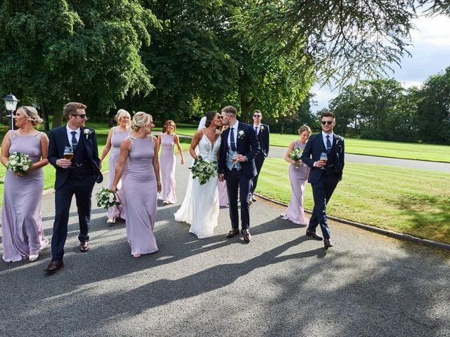 Oliver and Lauren's Wedding in Peover Superior, Cheshire 105