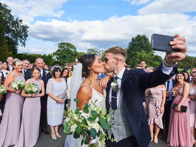 Oliver and Lauren's Wedding in Peover Superior, Cheshire 106