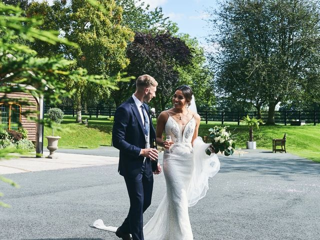 Oliver and Lauren's Wedding in Peover Superior, Cheshire 112