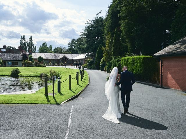 Oliver and Lauren's Wedding in Peover Superior, Cheshire 113